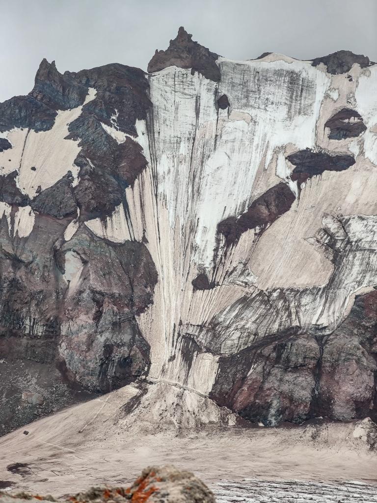 Lednik Ortsveri Glacier