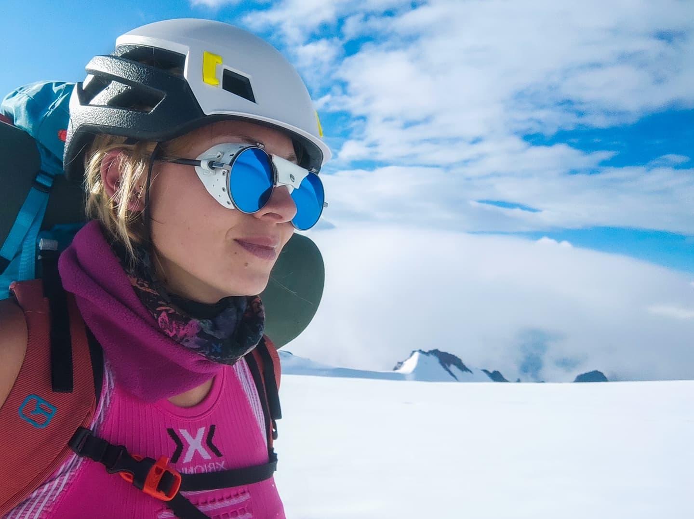 Inga Ecker High Camp Kazbek Glacier