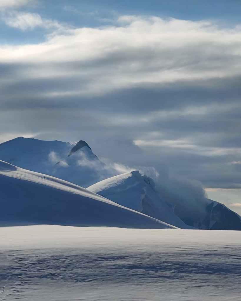Caucasus mountains Georgia Kazbek Russia