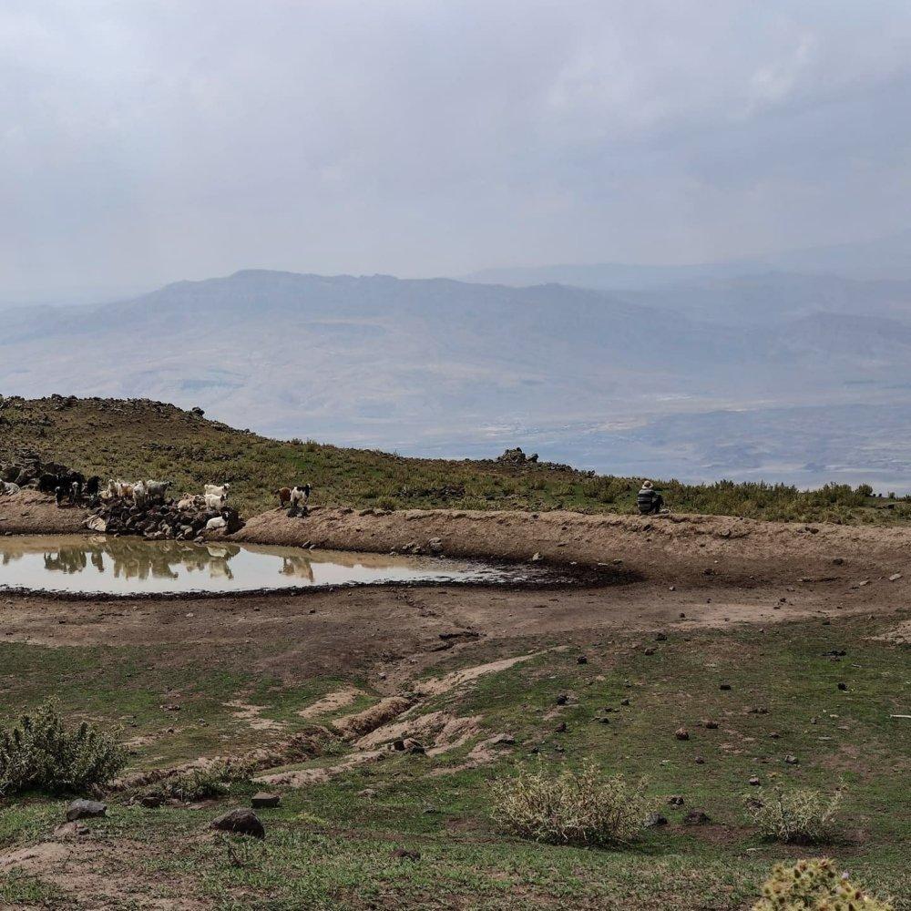 Ararat plateau camp 1 base camp desert views