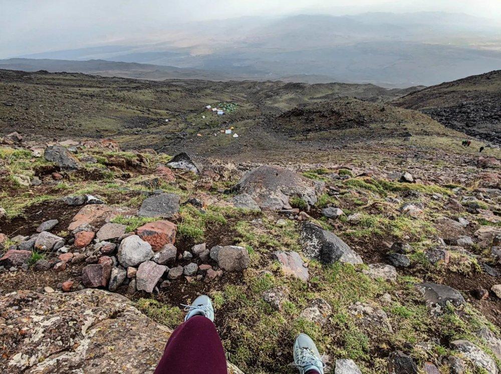 Base Camp Ararat acclimatization hike views