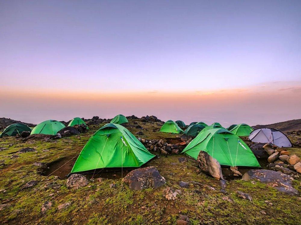 Ararat sunrise base camp